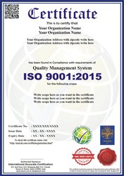 ISO 9001:2005 Certification