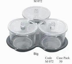 Big Polycarbonate Jam Pot Sets