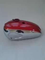 New Bsa A65 2 Gallon Red Painted Chrome Petrol Tank 1968-69 Us Specifications
