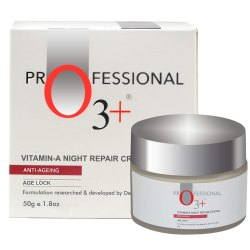 O3 Anti-Ageing Vitamin-A Night Repair Face Cream Wrinkle Filler Deep Moisturizer for Acne Removal
