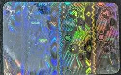 Custom Hologram ID Card Overlay