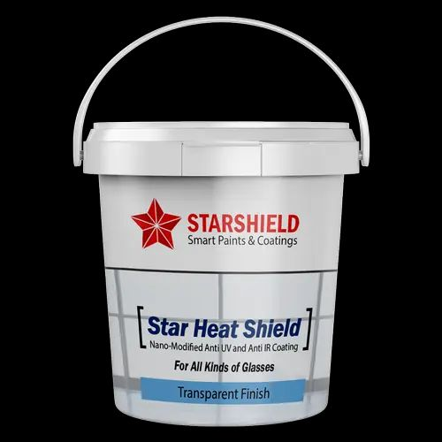 Heat Resistant Coating - Star Heat Shield- Nano-modified Transparent