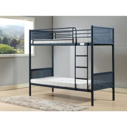 Stainless Steel SS Twin Over Bunk Bed