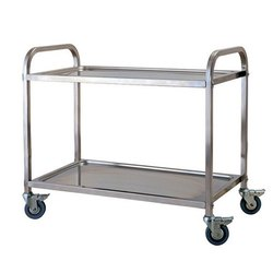 Synergy Technics Stainless Steel Service Trolley, for Commercial