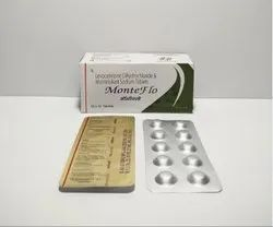 Montelukast 10 mg  and Levocetrizine 5 mg Tablet