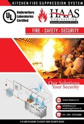Standard Novec 1230 Fire Suppression System