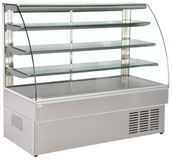 Baba solutions Stainless steel SS Display Counter, For Restaurant, Warranty: 1 Year