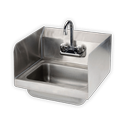 SS Wall Mounted Sink Unit
