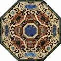 Marble Dining Table Top Stone Inlay Pietra Dura Art Work Decor