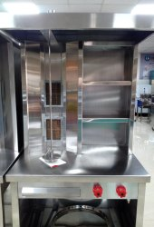 Sabari Gas Shawarma Machine With Racks, 2 Nos