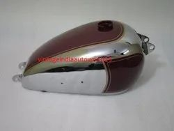 New 1950 BSA A7 Plunger Model Chrome and Painted Fuel Petrol Gas Tank