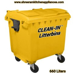 660 L Industrial Dustbin