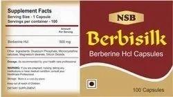 Berberine Hcl Capsule