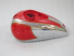 Ariel Square Four Bright Raid Painted Chrome Petrol Tank