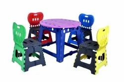 Kids Folding Chair And Table Set
