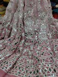 Machine Embroidered Fabrics