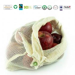 Fair Trade Organic Cotton Mesh Bag