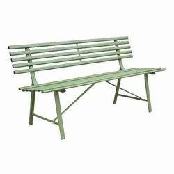 Steel Garden Bench