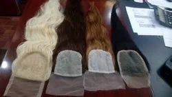 Hair King Remy Indian Human Lace Closure Hair