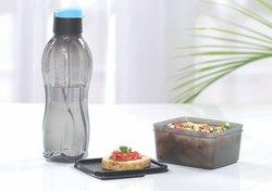 Plastic Screw Cap Tupperware Water Bottles, Capacity: 1 liter, Size: One Liter