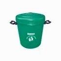 Green Plastic Sintex House Hold Bucket, Size: 20 Liters