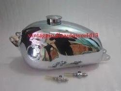 Hodaka Chrome Gas Tank 125 Combat Wombat Model 95 Super Rat Road Toad Dirt Squirt Ace with Cap