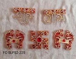 Acrylic Shubh Labh Laxmi Pagla Swastik