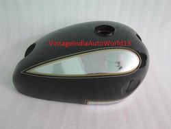 New Ariel Square Four 1000cc Black Painted Chrome Gas Fuel Petrol Tank
