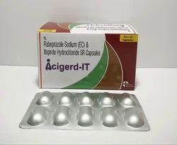 Rabeprazole Sodium 20mg And Itopride Hydrochloride 150mg Capsule