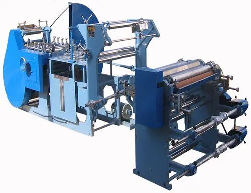FRIENDS Semi Automatic Paper Shopping Bag Making Machine, Model Number: Pbmm_sh, Production Capacity: 50-70 Bags per minute