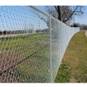 Mild Steel Garden Chain Link Fencing, Packaging Type: Roll
