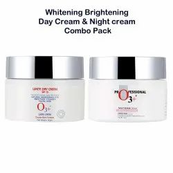 O3 Whitening Brightening Day Cream and Night Cream Combo (50g Each)