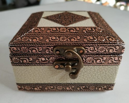 Square Handicraft Jewellery Box