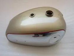 Brand New Bsa A7 A10 Super Rocket Golden Painted Chromed Petrol Tank