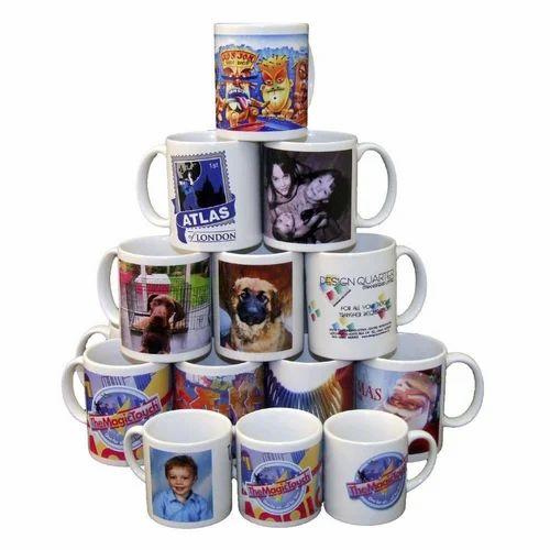 59c40cb2d75 Ceramic Printed Mug, Packaging Type: Box, Rs 100 /piece, Akshaya ...