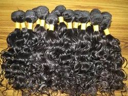 Hair King Indian Human Double Weft Thick Wavy Hair