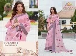 Festive Wear Handloom Cotton Silk Saree, With Blouse Piece