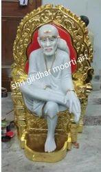 Baba Sai Nath Marble Statue
