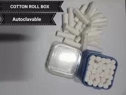 Cotton Roll Holder Box