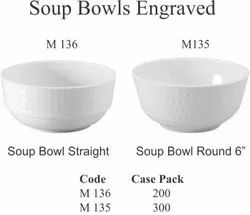 Soup Bowls Engraved