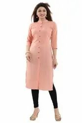 Straight Cut Pintuck Kurti