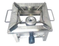 Square Single Commercial Burner Gas Stove