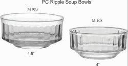 Polycarbonate Ripple Soup Bowls