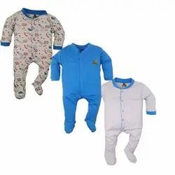 Cotton Baby Romper 3pc Pack