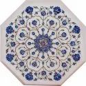 Marble Coffee Table Top Inlay Work Home Decor