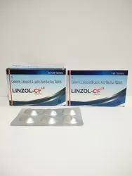 Cefixime 200 Mg  Linzolid 600 Mg And Lactic Acid Bacillus 60 Million Spores