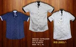 Collar Mens Half Shirts, Size: M, L, Xl