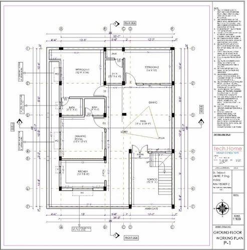 Architecture Building Plan, Rishikesh