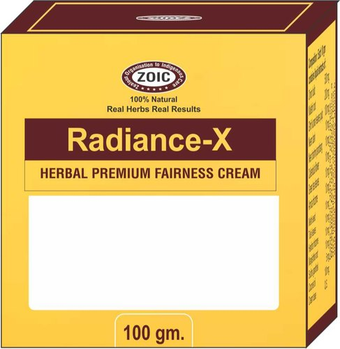 Radiance- X Face Cream For Personal, Packaging Size: 100 Gm