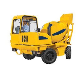 Self Loading Concrete Mixer Rental